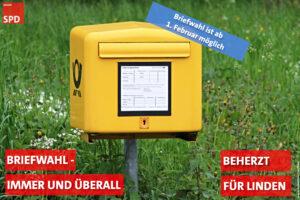 Briefwahlstart für Kommunalwahl